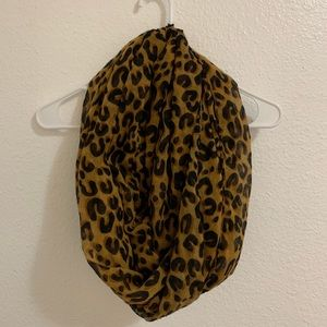 Infinity Cheetah Print Scarf